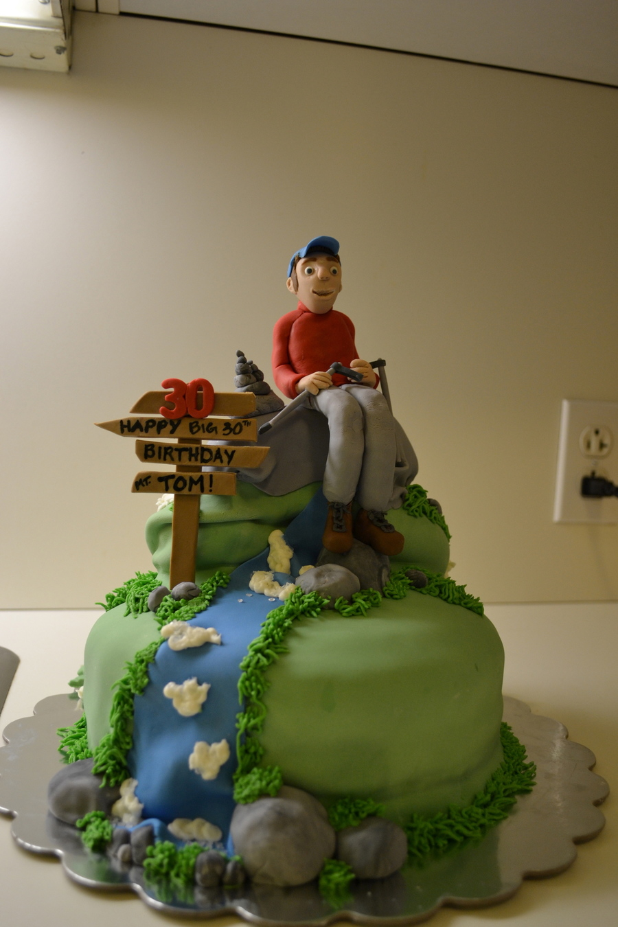 30th Birthday Hiking Cake Cakecentral Com