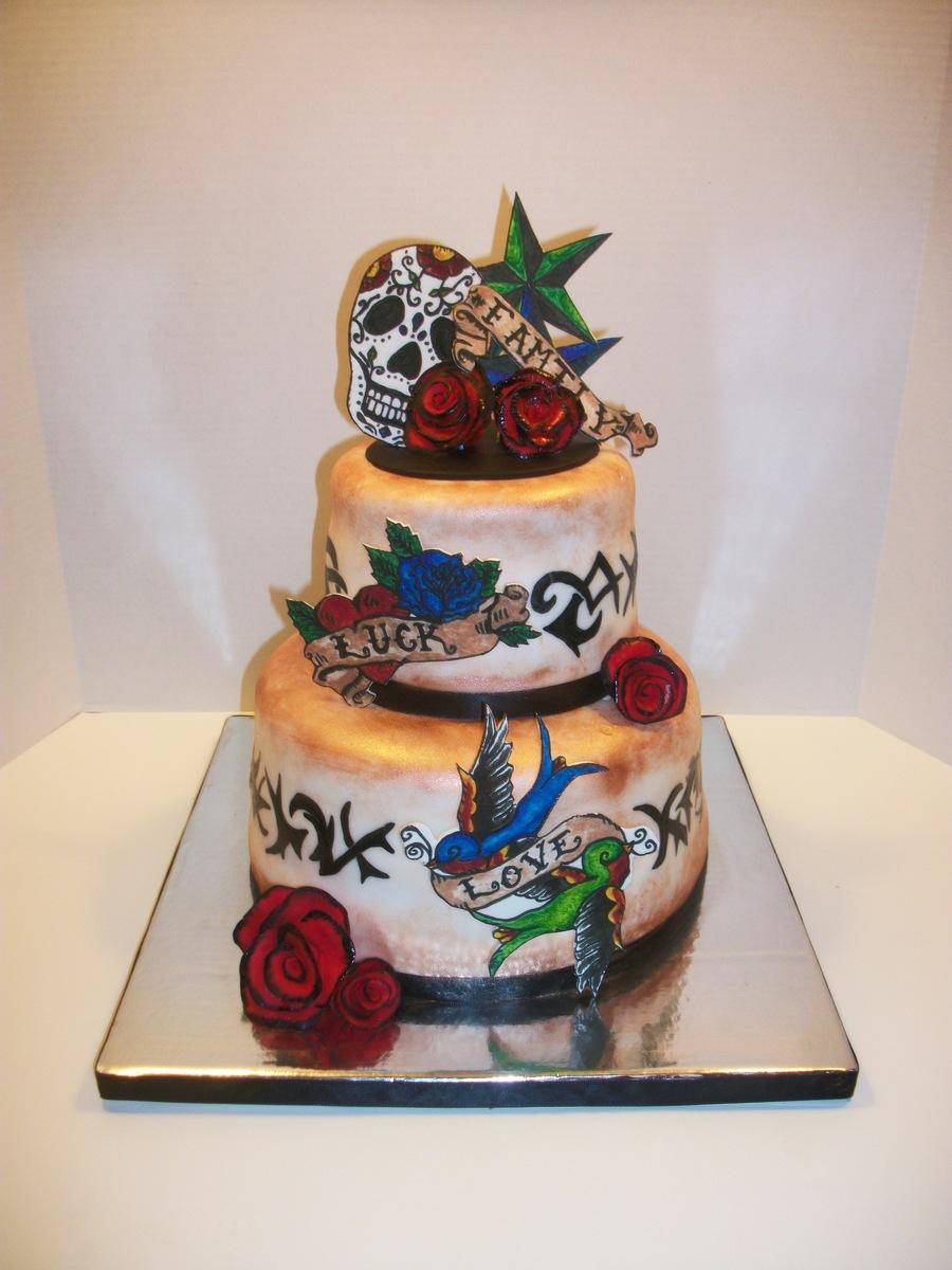 Tattoo Cake Cakecentral Com