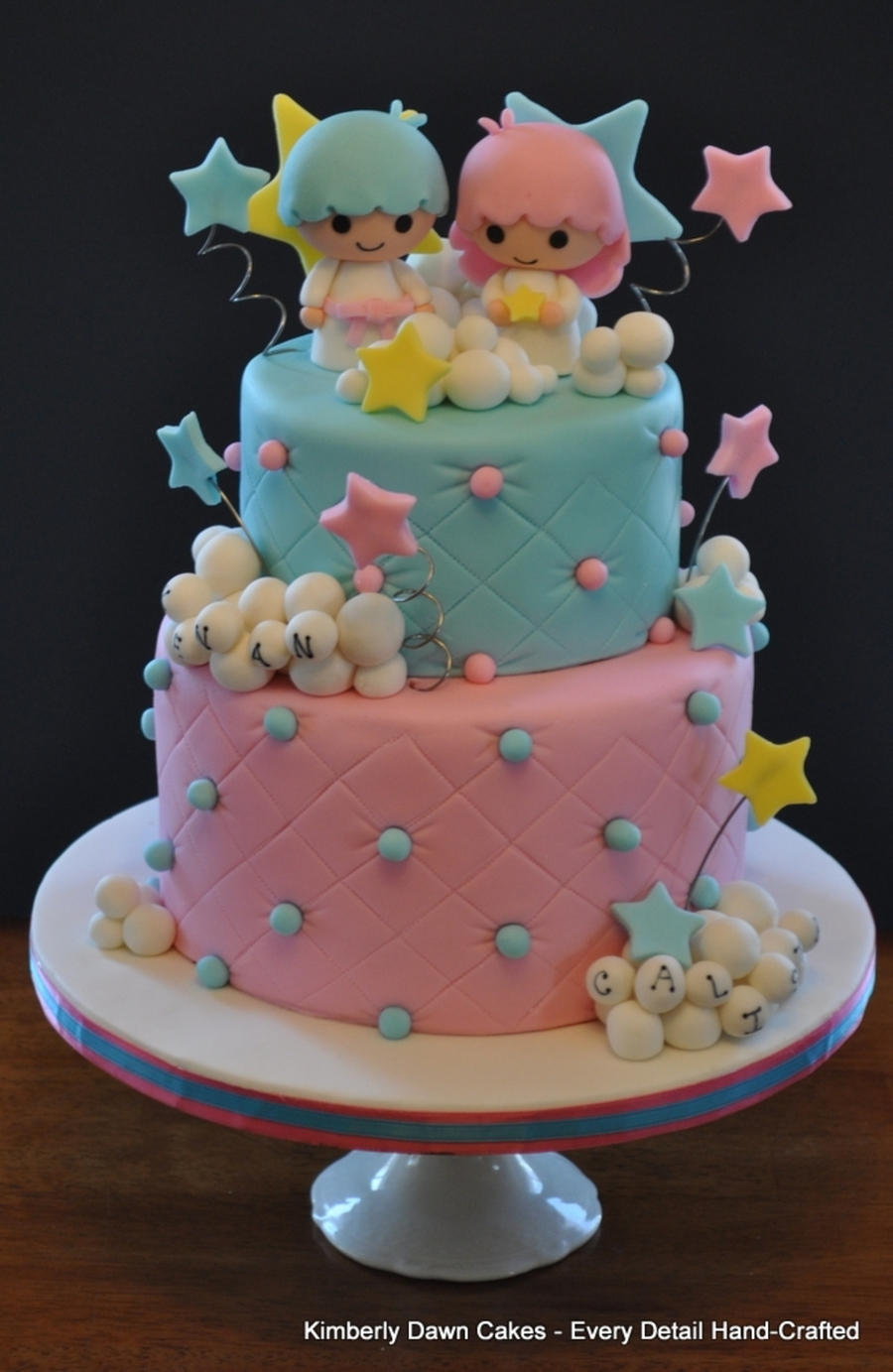 Little Twin Stars Cake Cakecentral Com