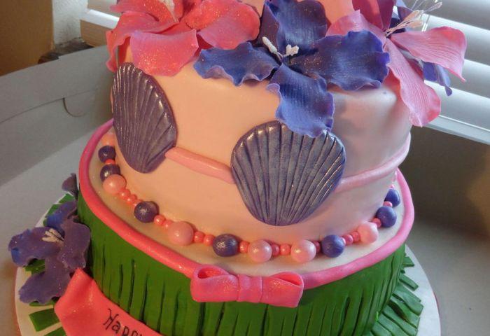 Hawaiian Birthday Cake Coconut Cake With Coconut Cream Cheese