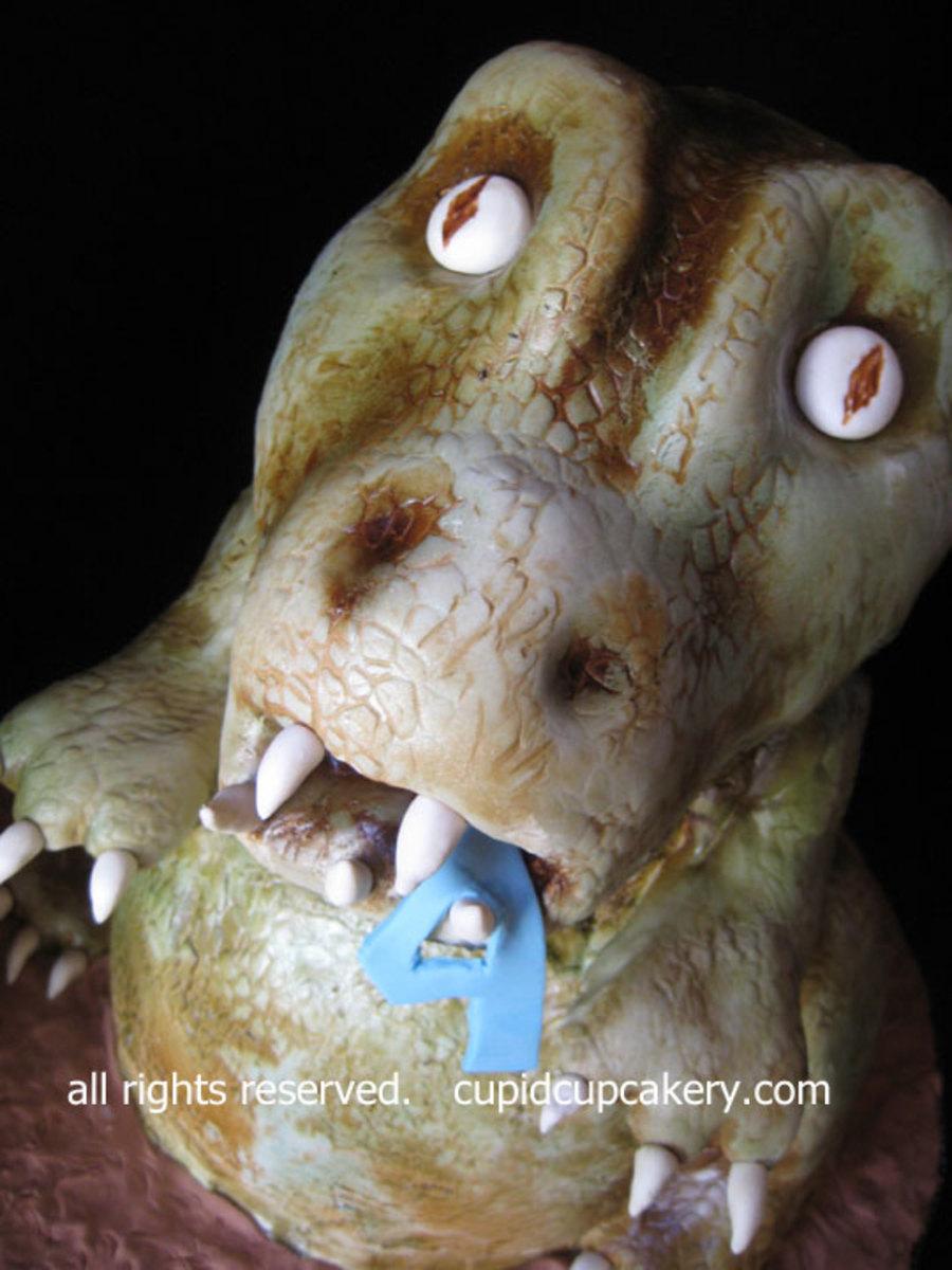 Dinosaur T Rex Birthday Cake Cakecentral Com