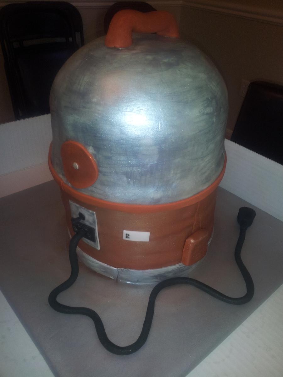 Rainbow Vacuum Cleaner Cake Cakecentral Com