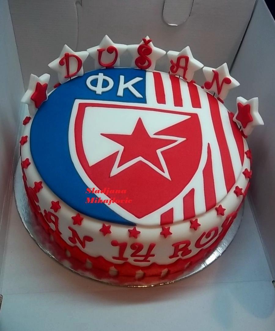 Crvena Zvezda Torta Red Star Cake