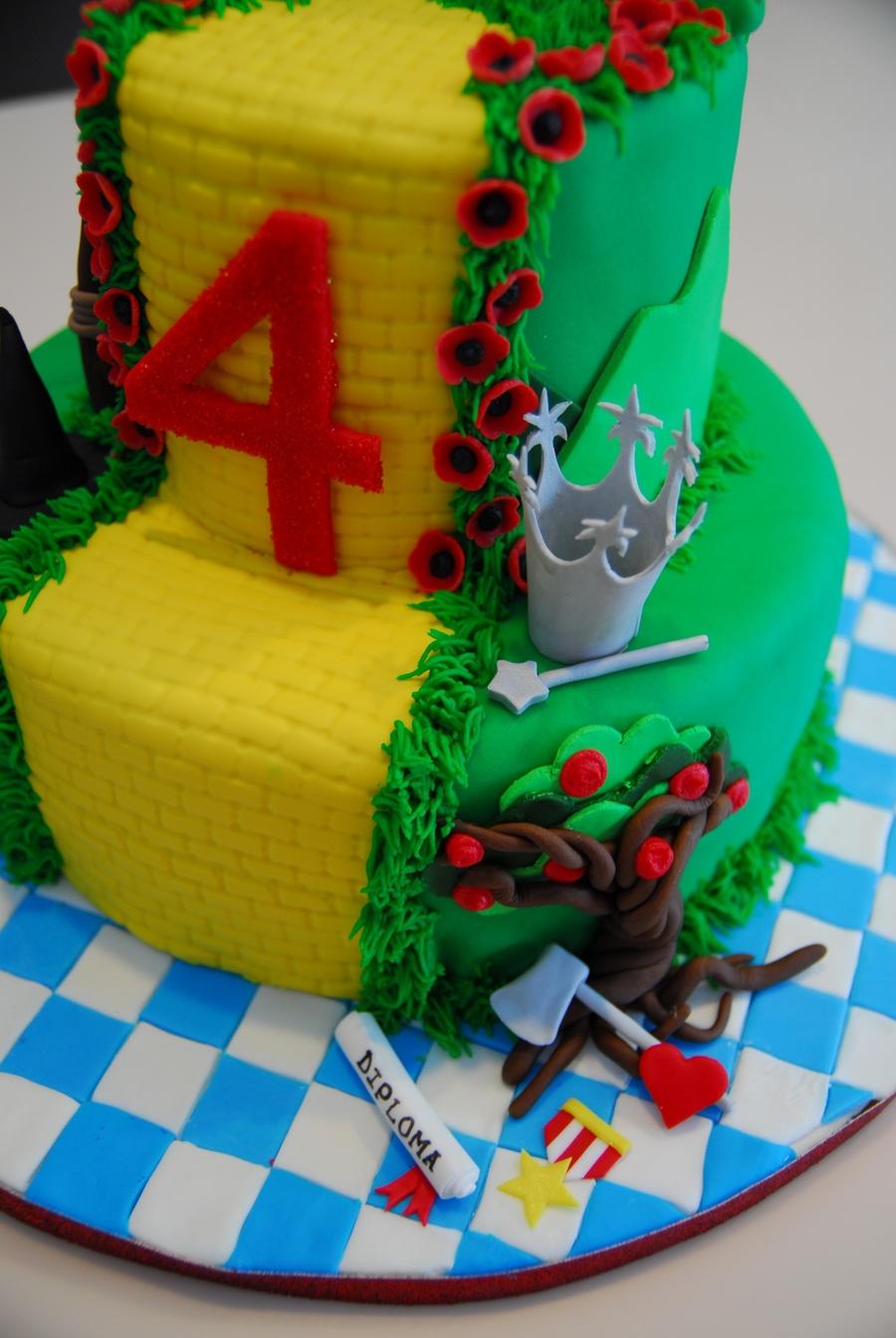 Wizard Of Oz Cake Cakecentral Com