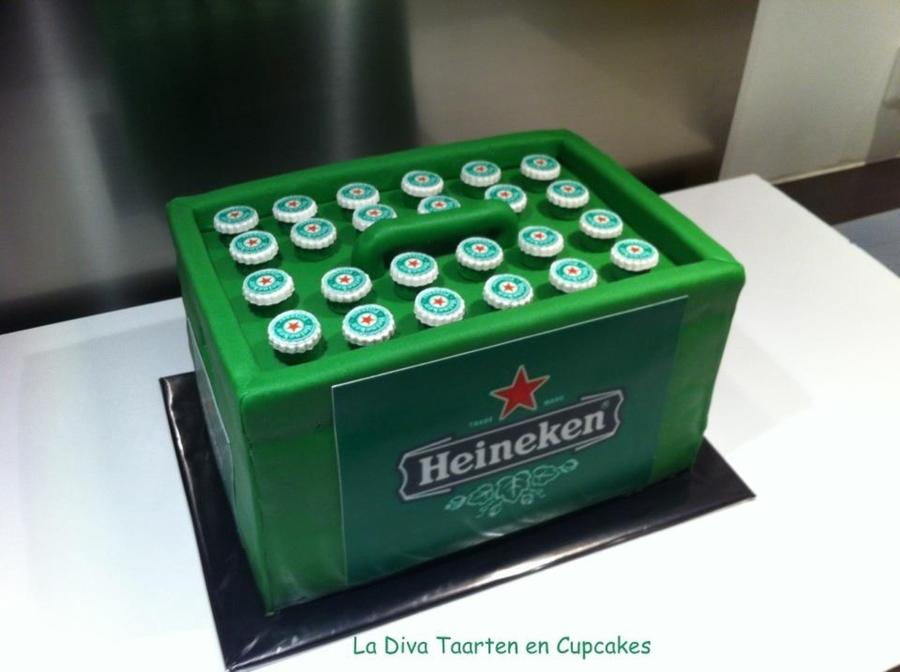 Heineken Beer Crate Cake Cakecentral Com