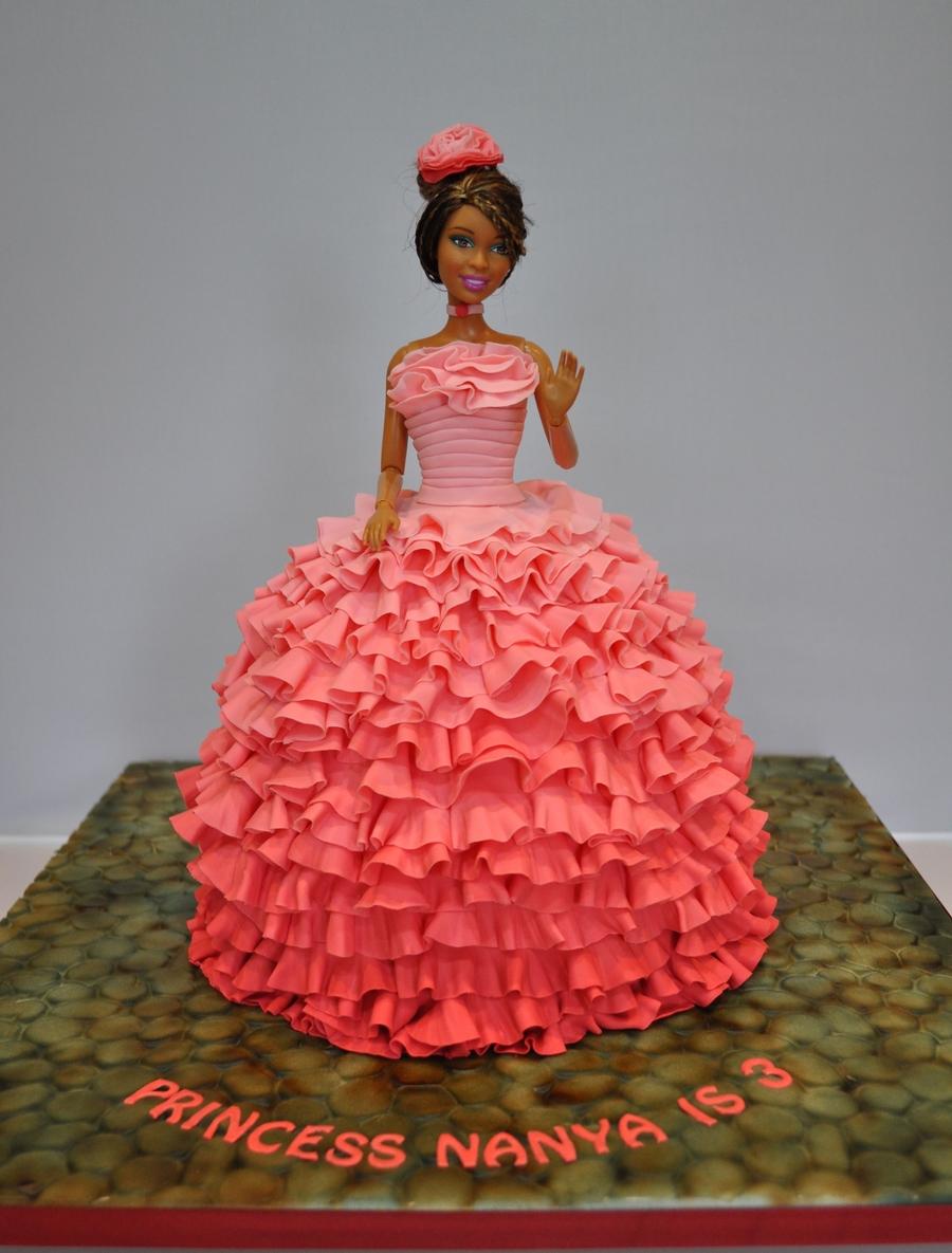My 2nd Princess Birthday Cake Cakecentral Com