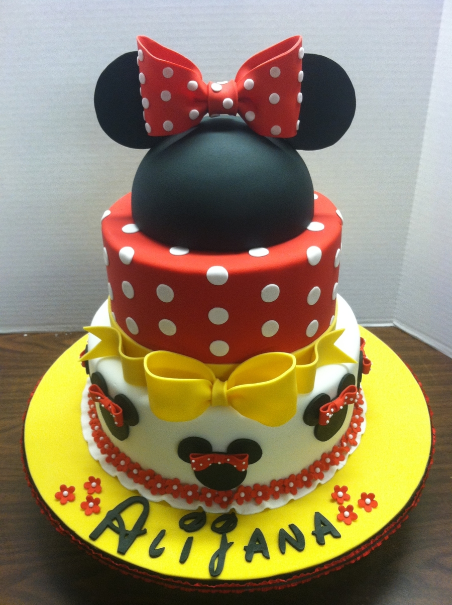 Minnie Mouse Birthday Cakecentral Com