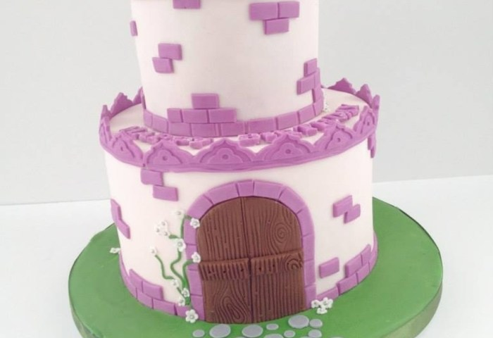 Castle Theme Cake Design After One Created By The Royal Bakery