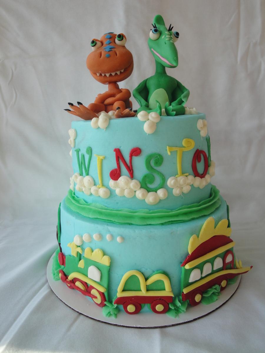 Dinosaur Train Cake Cakecentral Com