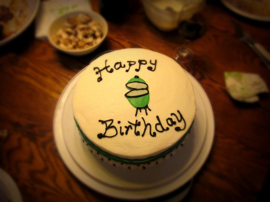 Green Egg Birthday Cake Cakecentral Com