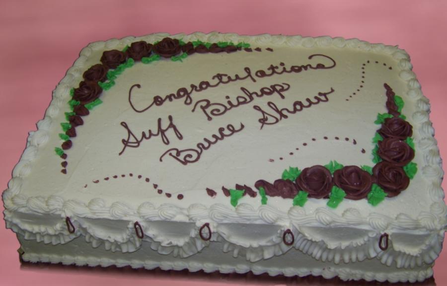 Pastor S Birthday Cake Cakecentral Com