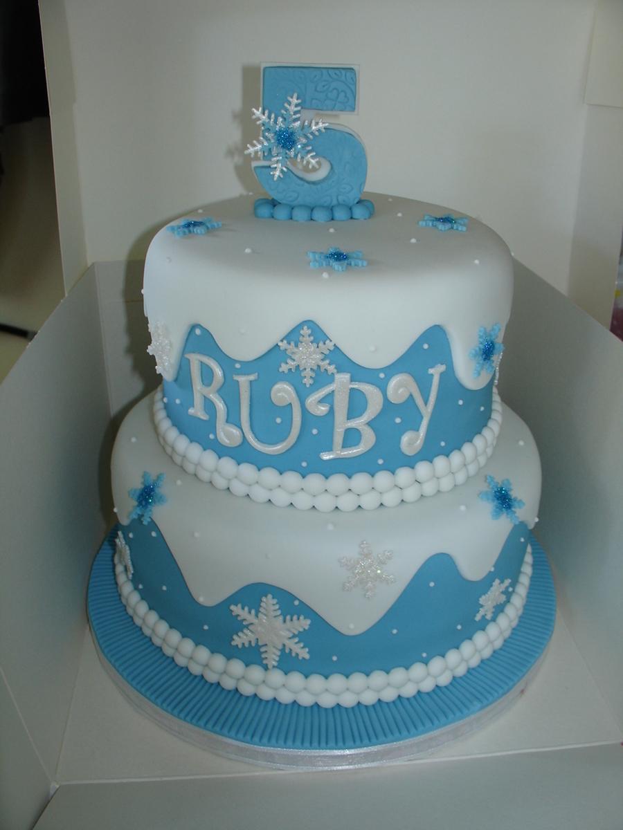 Disney Frozen Fondant Cake Cakecentral Com