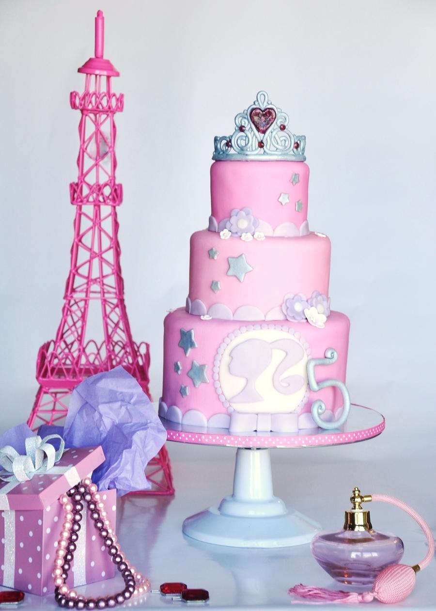 Barbie Girl Cake Cakecentral Com