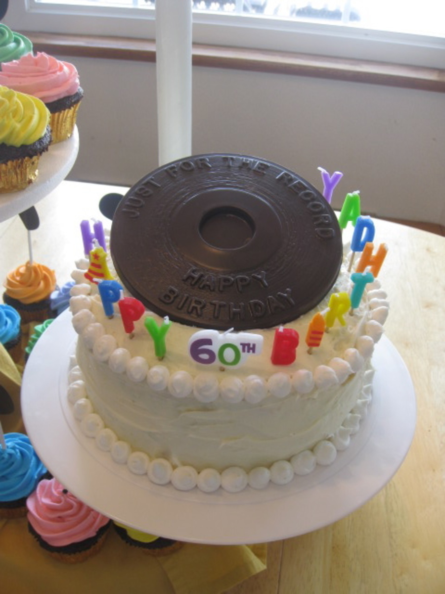 Golden Oldies 60th Birthday Cake Cakecentral Com