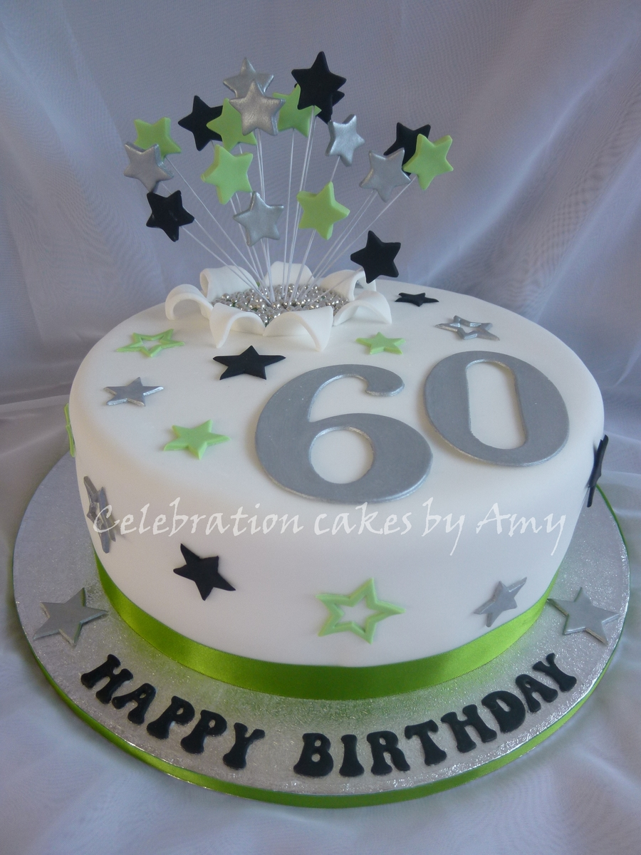Male S 60th Birthday Cake Cakecentral Com
