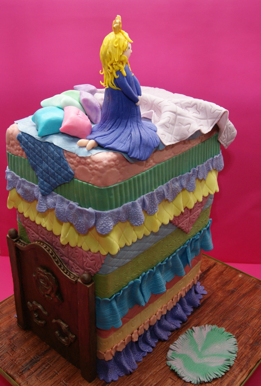 My Princess And The Pea Cake Cakecentral Com