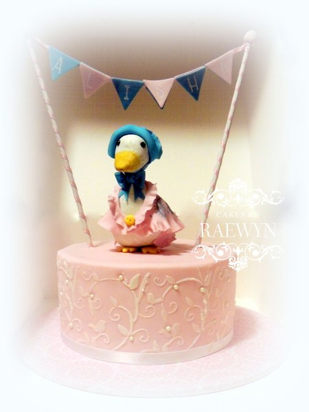 Jemima Puddle Duck Finds A Home   CakeCentral com A few months ago I was privileged to make my second Cake Central Magazine  cake  The theme was Beatrix Potter Baby Shower cakes   my book was The Tale  of