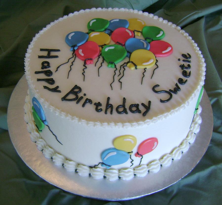 Balloon Bday Cakecentral Com