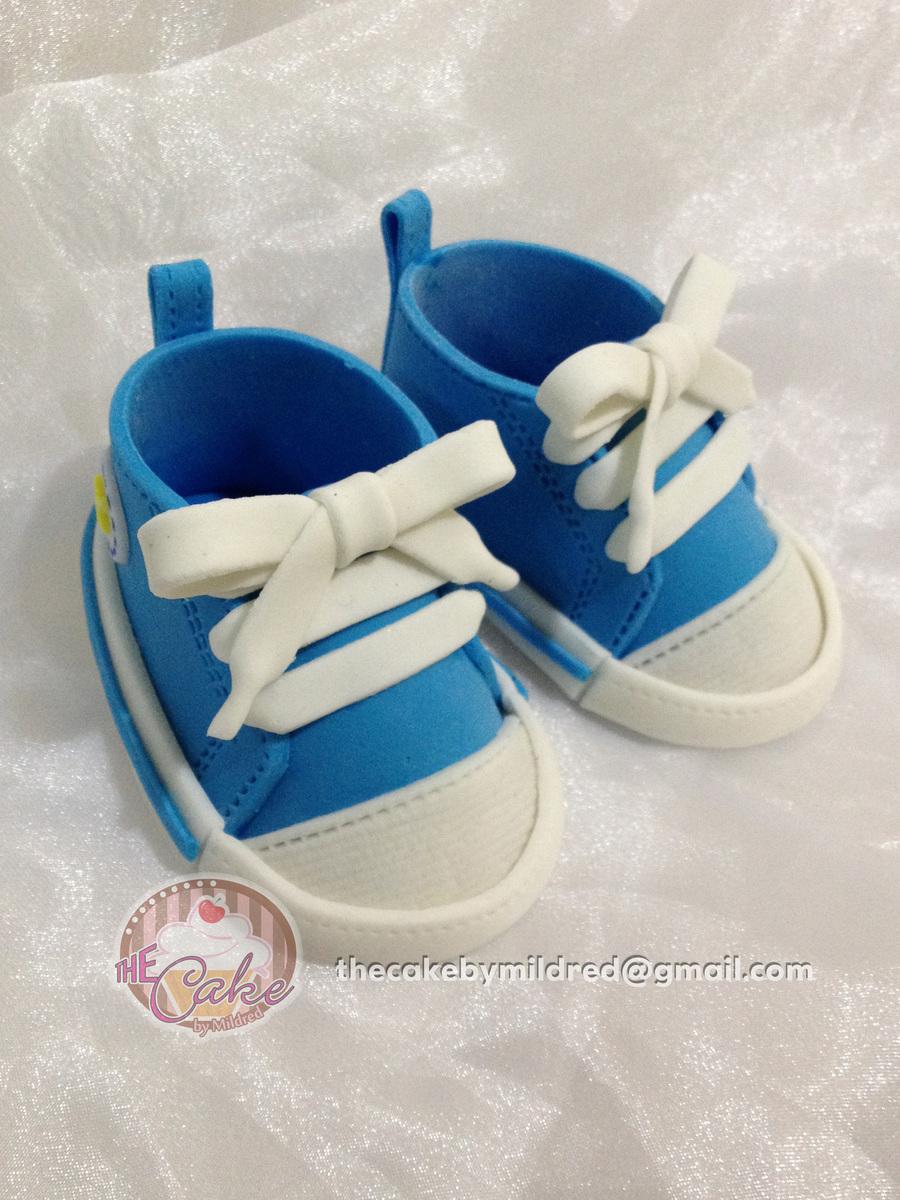 071b5da3e0b3 Fondant Baby Converse Template