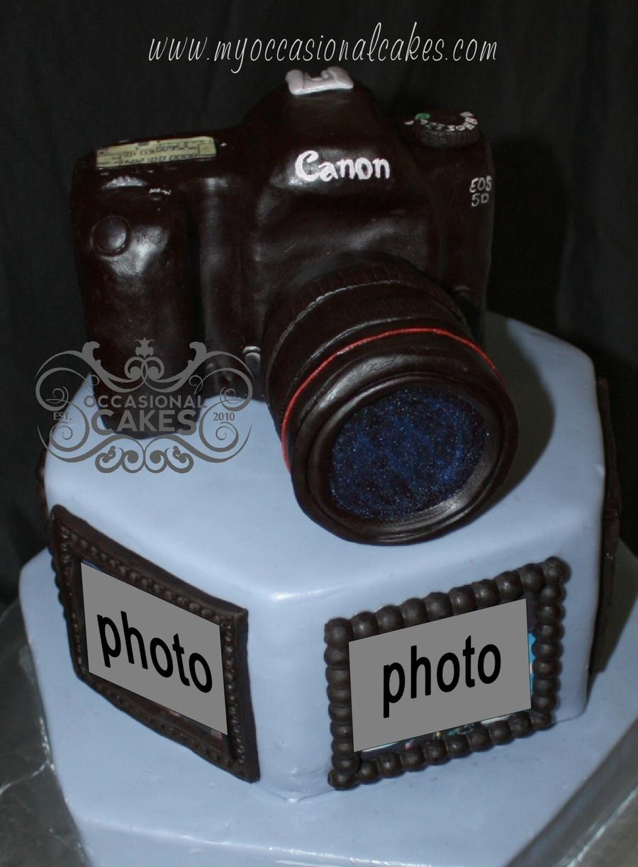 Canon Mark Iii Camera Cake Cakecentral Com