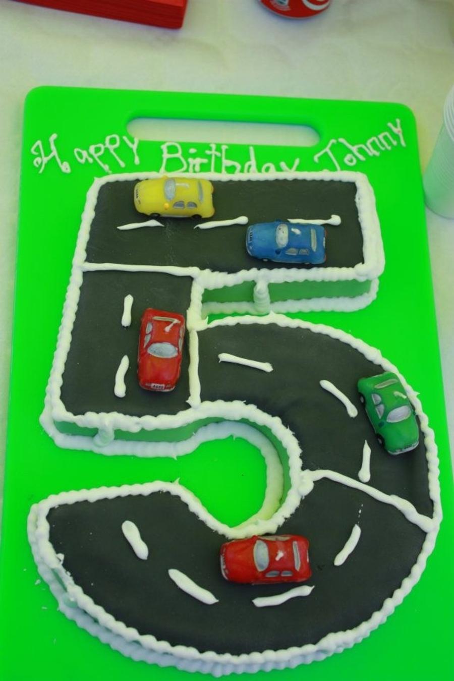Number 5 Cake Cakecentral Com
