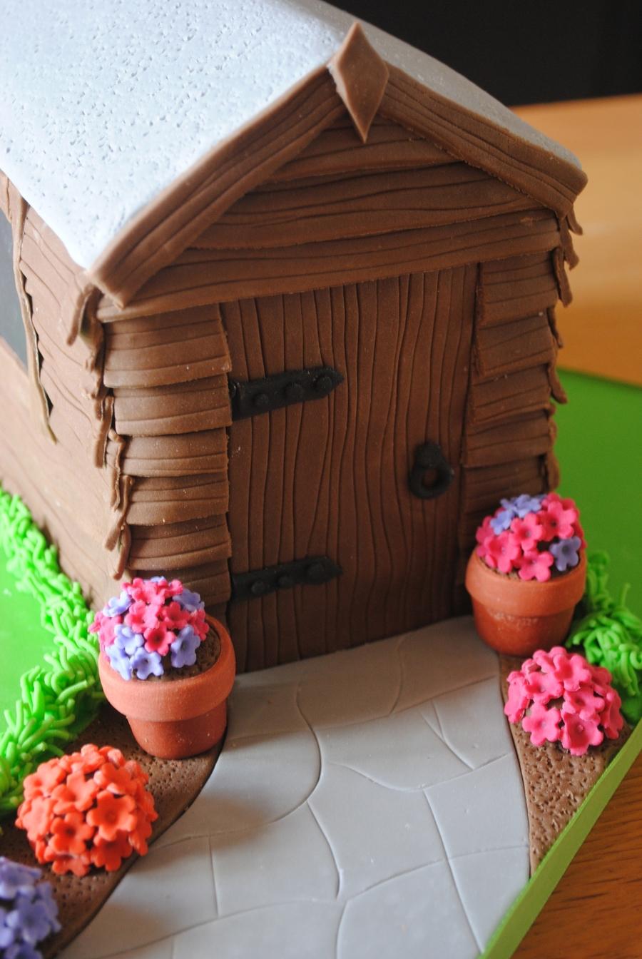 Garden Shed Cake Cakecentral Com