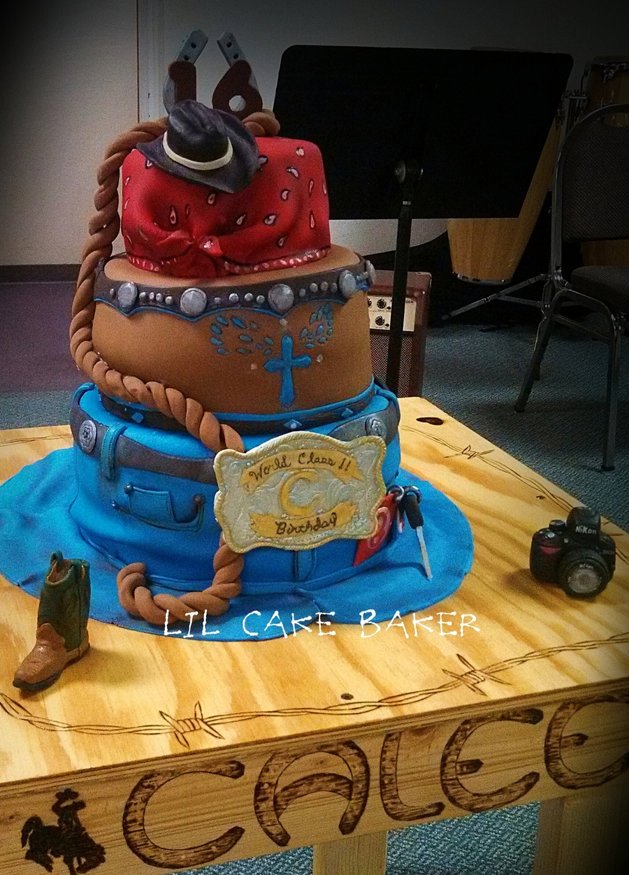 Country Girl Cake