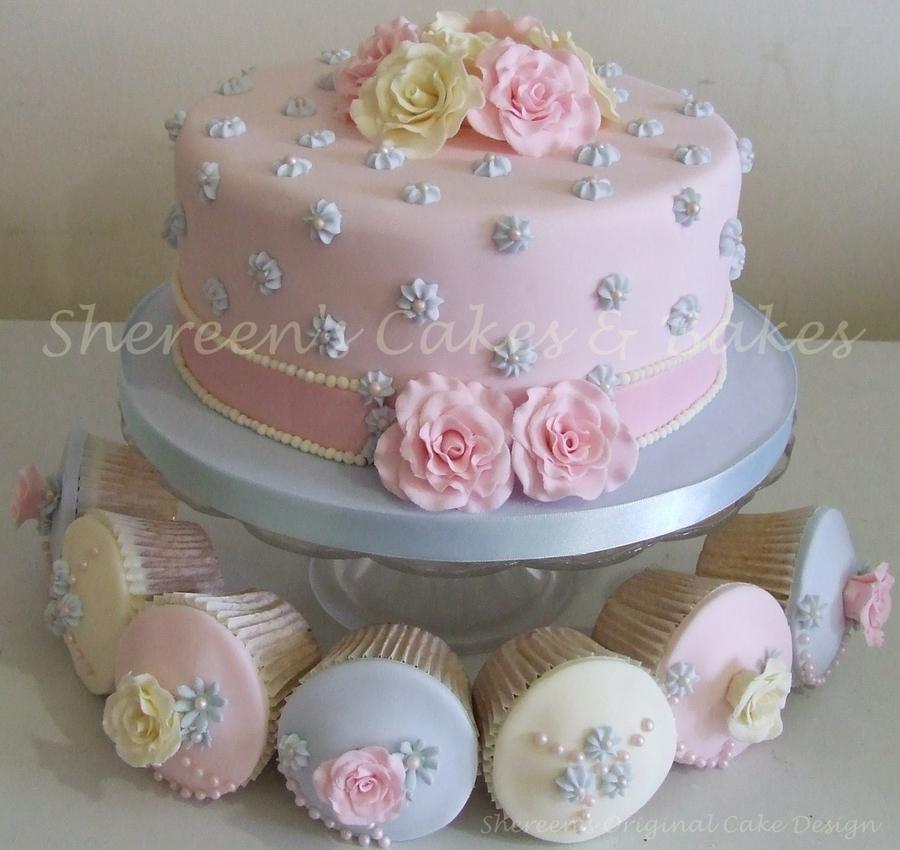 Shabby Chic Cake Amp Cupcakes Cakecentral Com