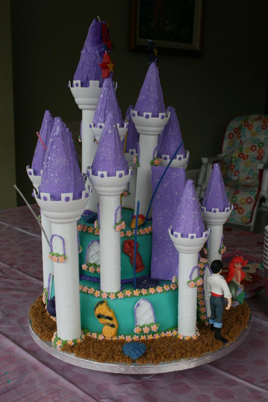 Little Mermaid Birthday Cake Cakecentral Com