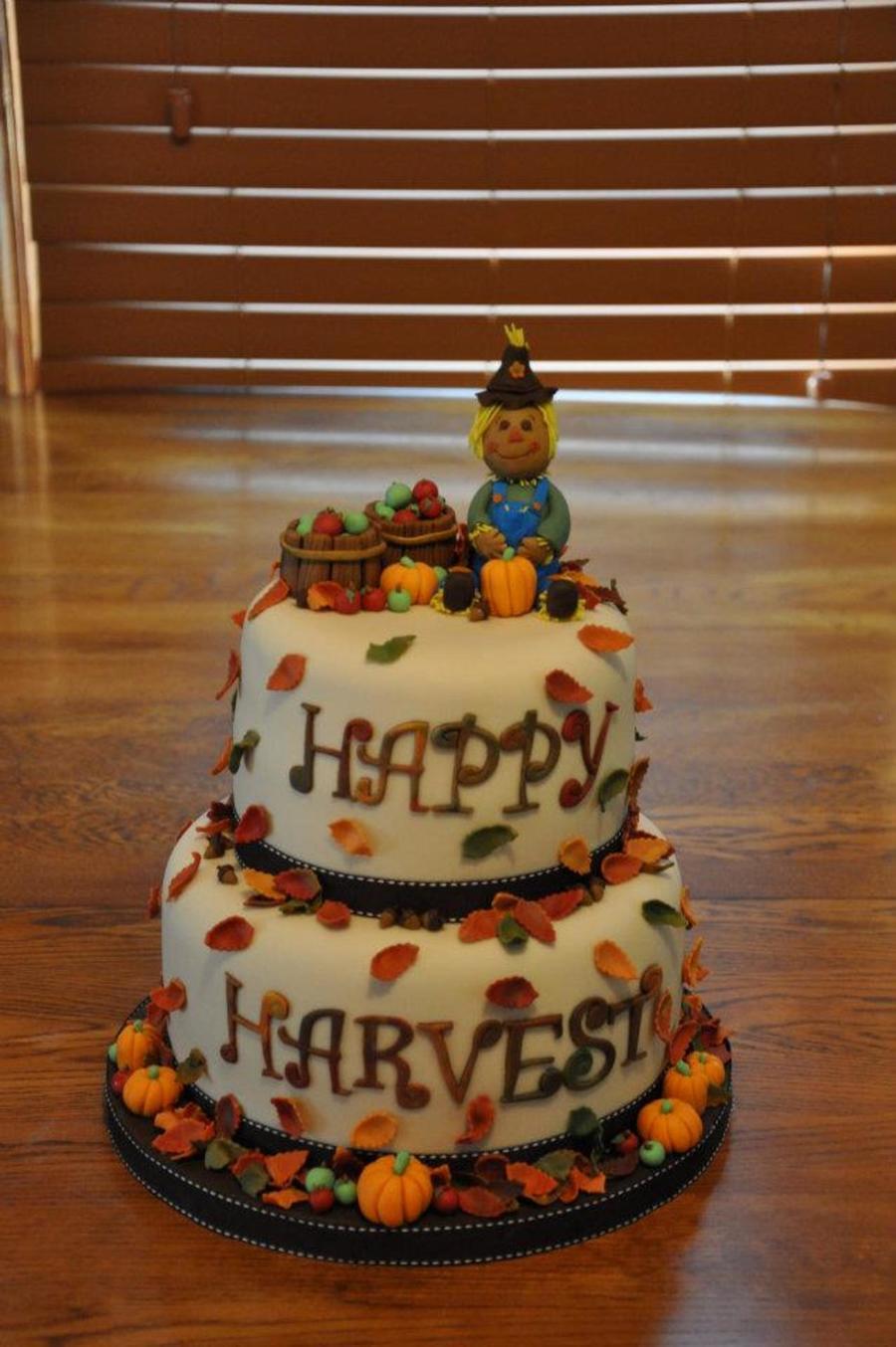 Fall Harvest Cake Cakecentral Com