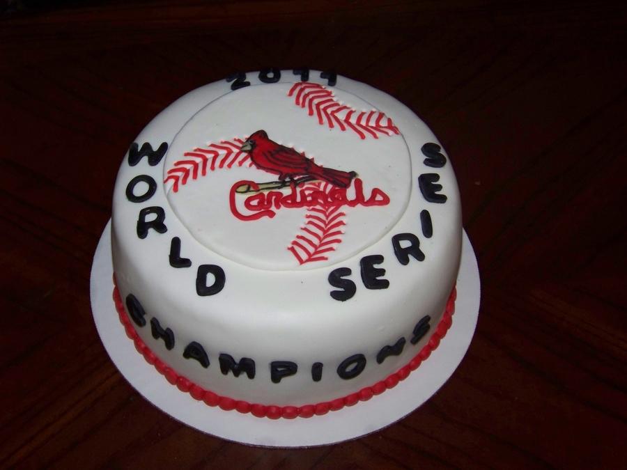 St Louis Cardinals Cake Decorating