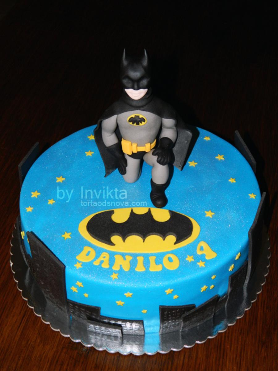 Batman Cake Cakecentral Com
