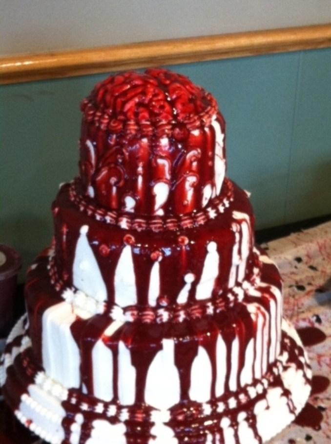 Halloween Wedding Cake - CakeCentral.com