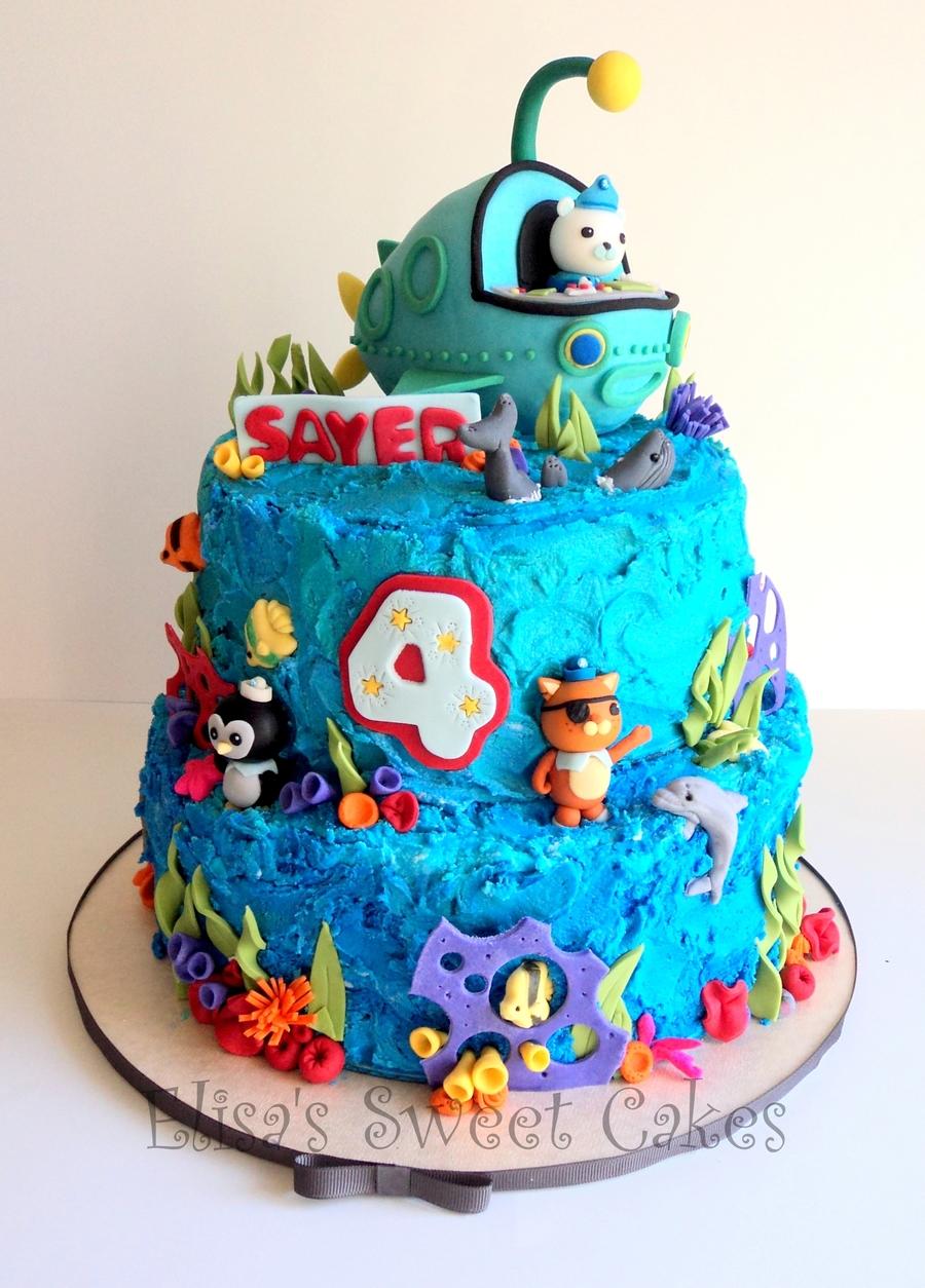 Octonauts Cake Cakecentral Com