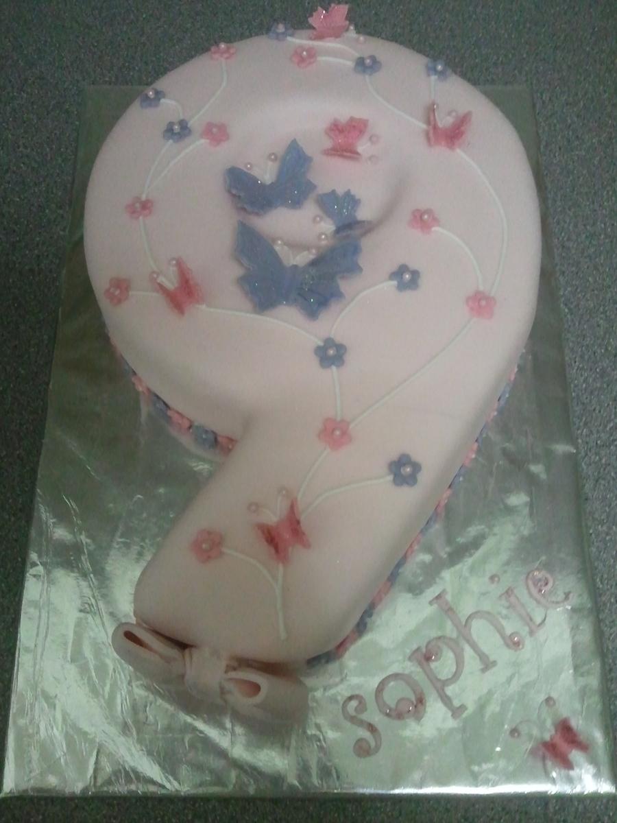Number 9 Cake Cakecentral Com