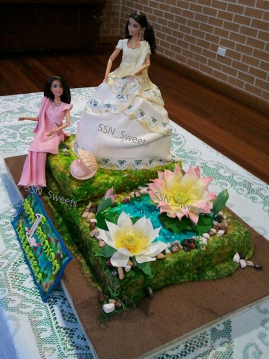 Indian Princessdoll Cake