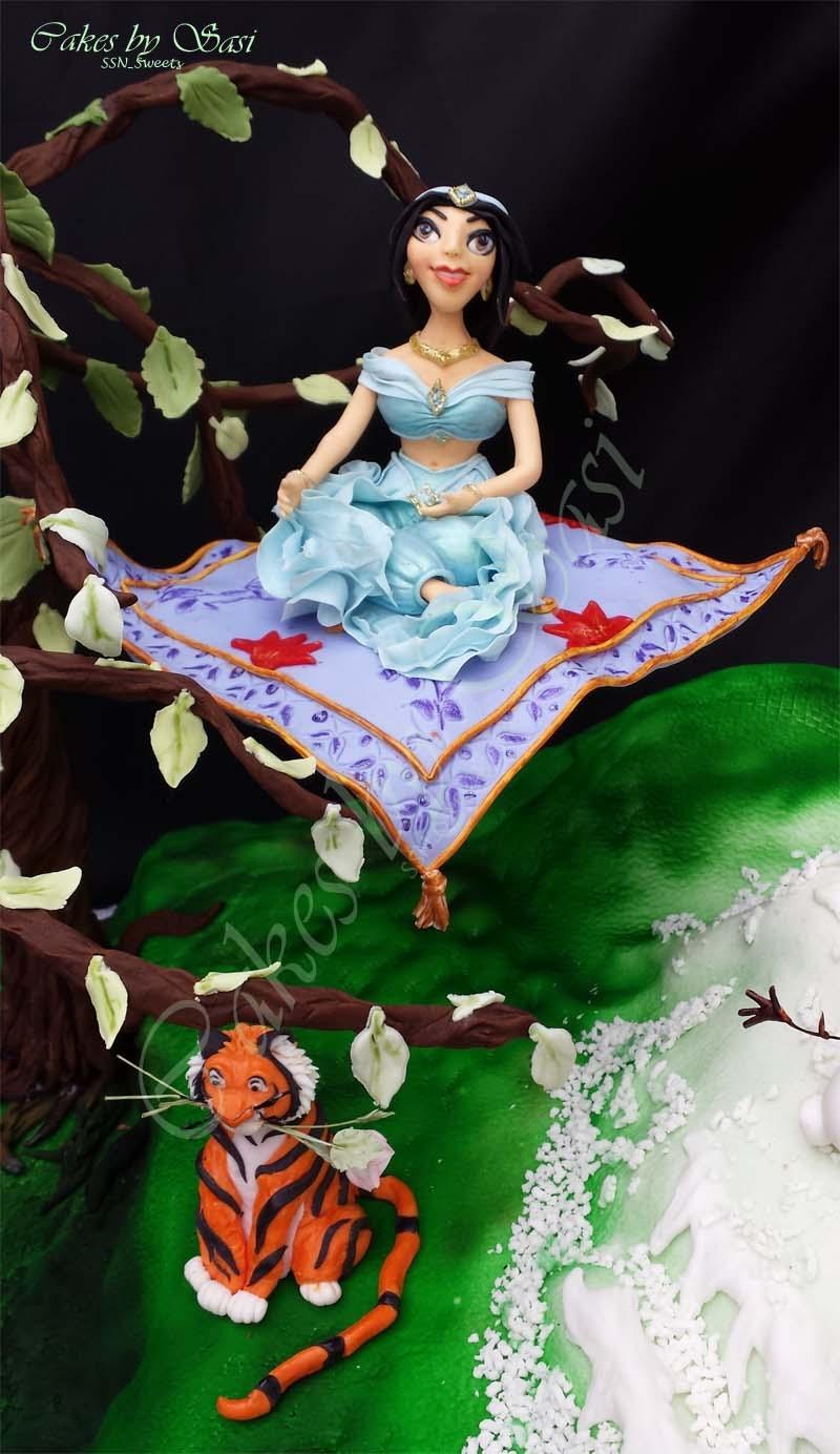 A Cake For Our Little Princess Princess Ariel Jasmine