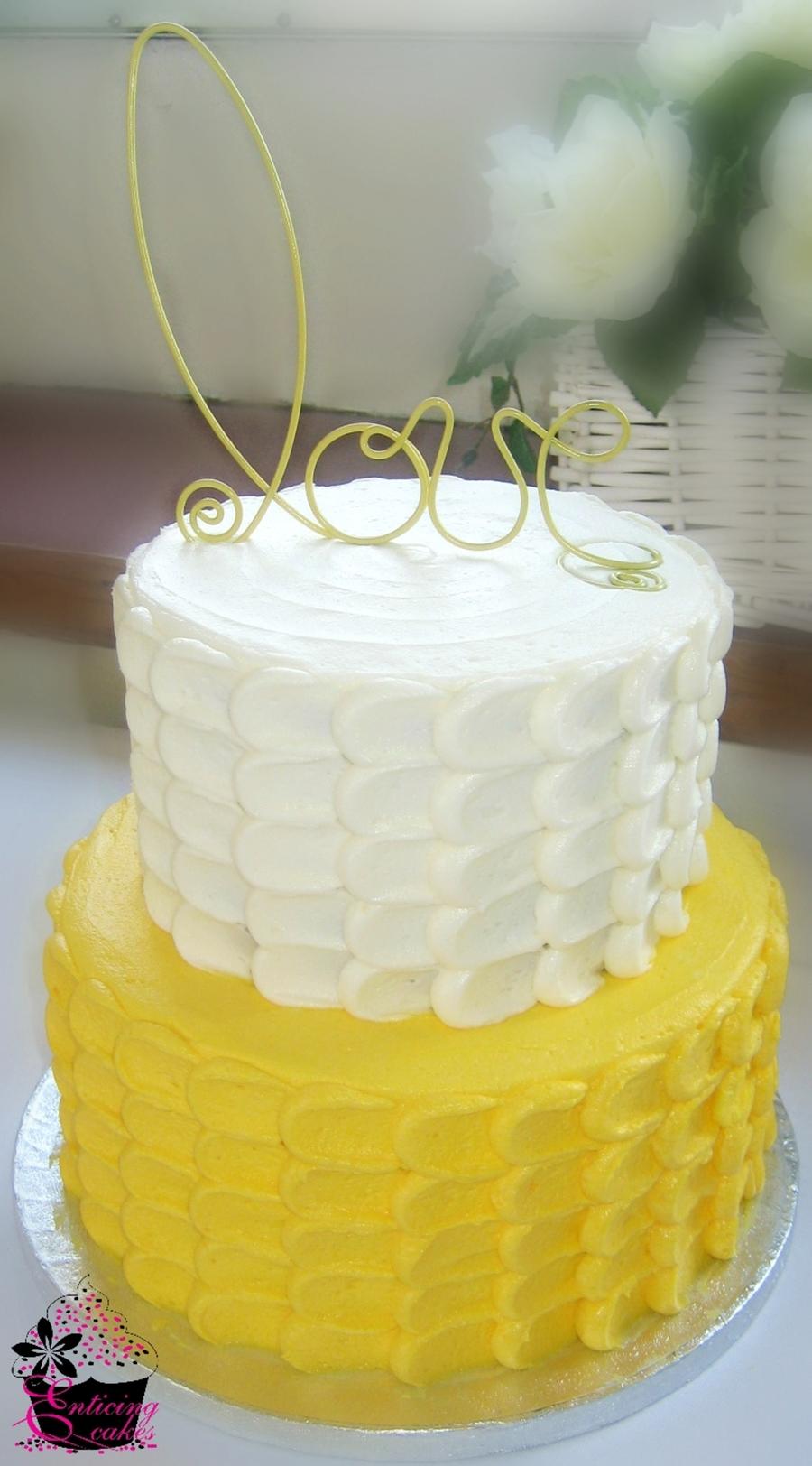 Yellow Petal Cake Cakecentral Com