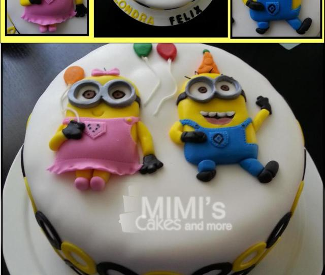 Minion Birthday Cake On Cake Central