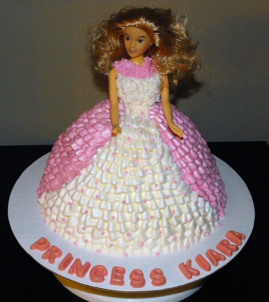 Princess Barbie Cake Using Wonder Mold Pan Cakecentral Com