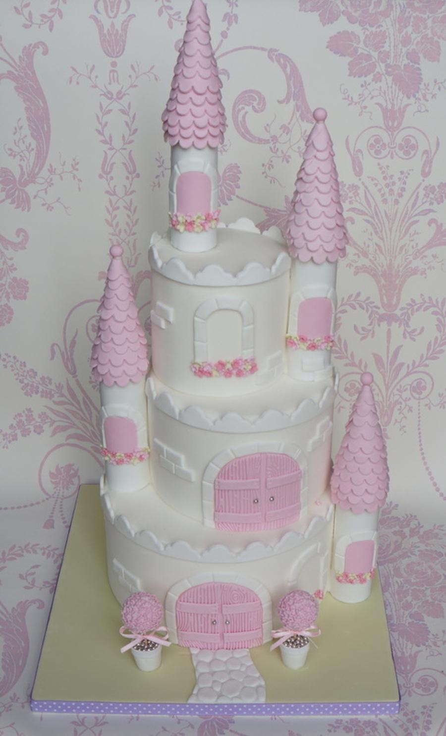 Princess Castle Cake Cakecentral Com