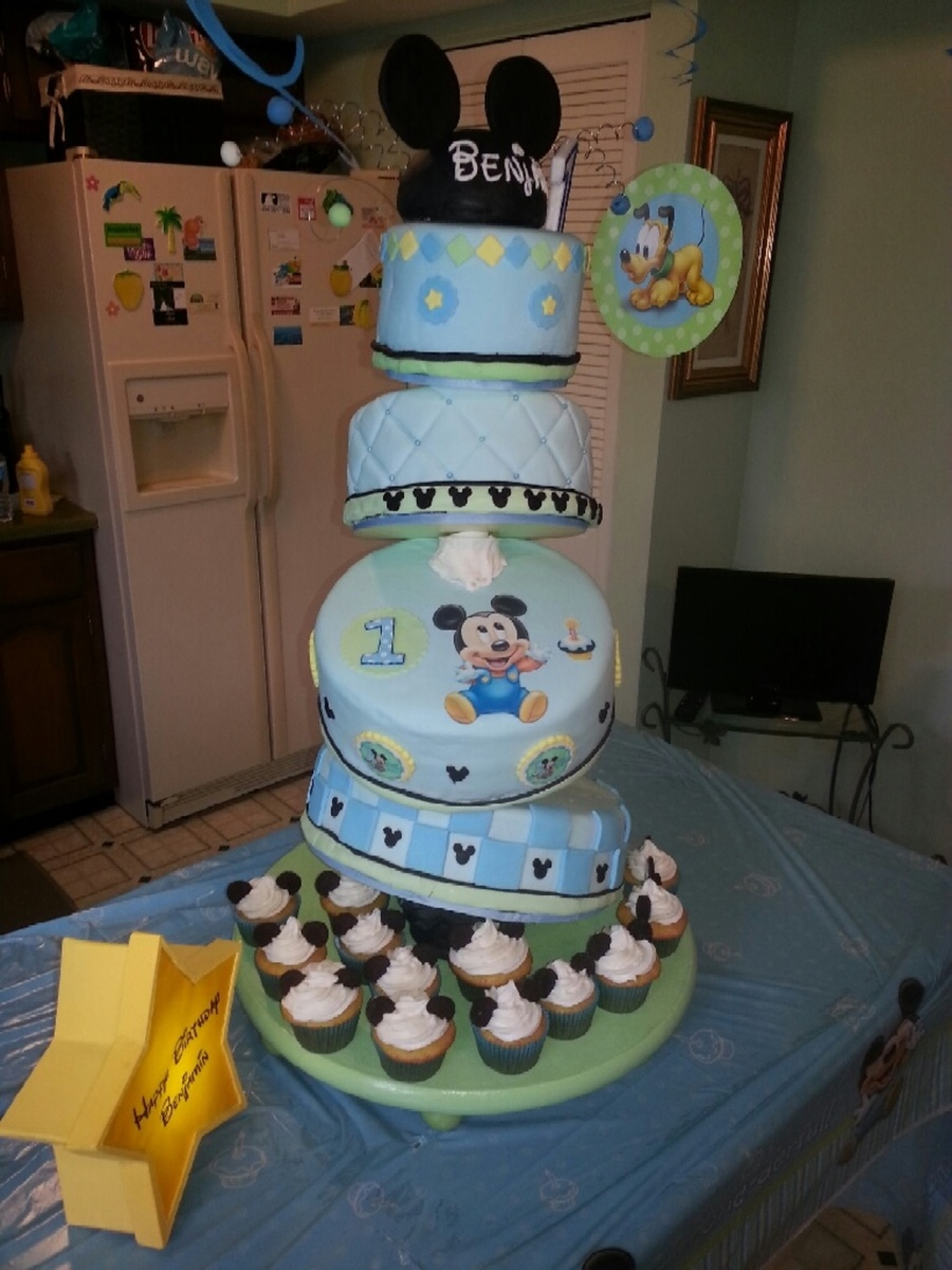 Baby Boy Cakes 1st Birthday