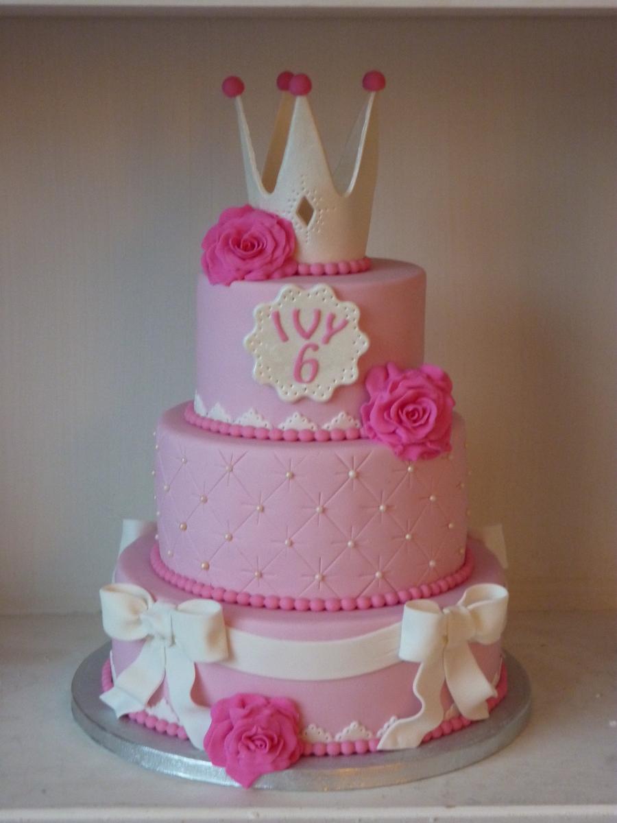 Pink Princess Cake Cakecentral Com