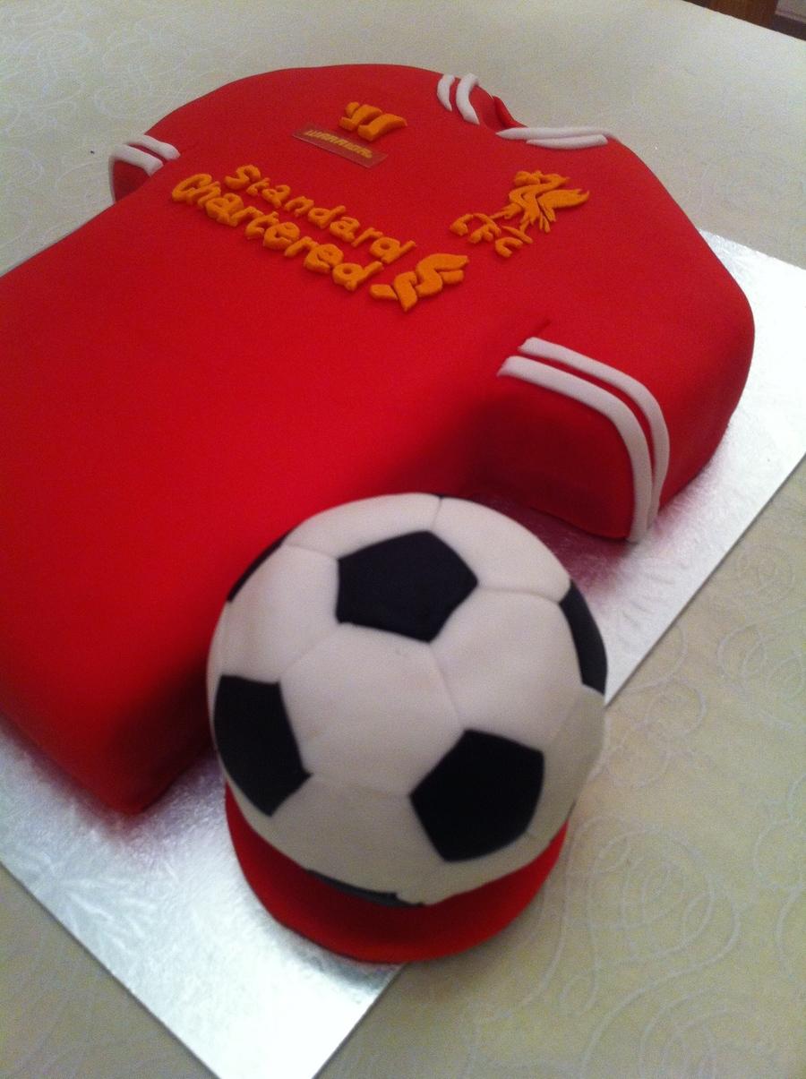 Football Soccer Cake Cakecentral Com