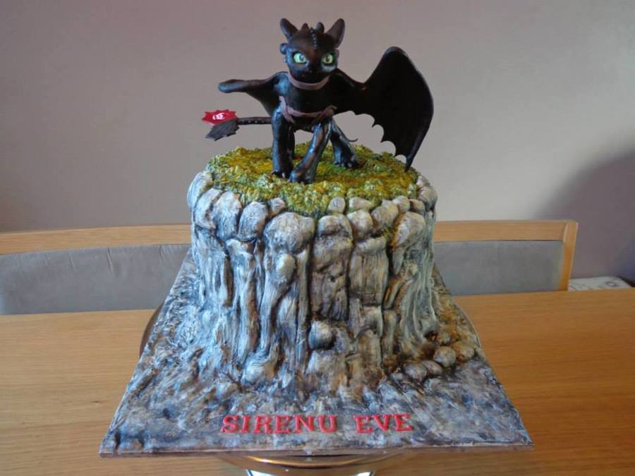 Toothless Cake Cakecentral Com