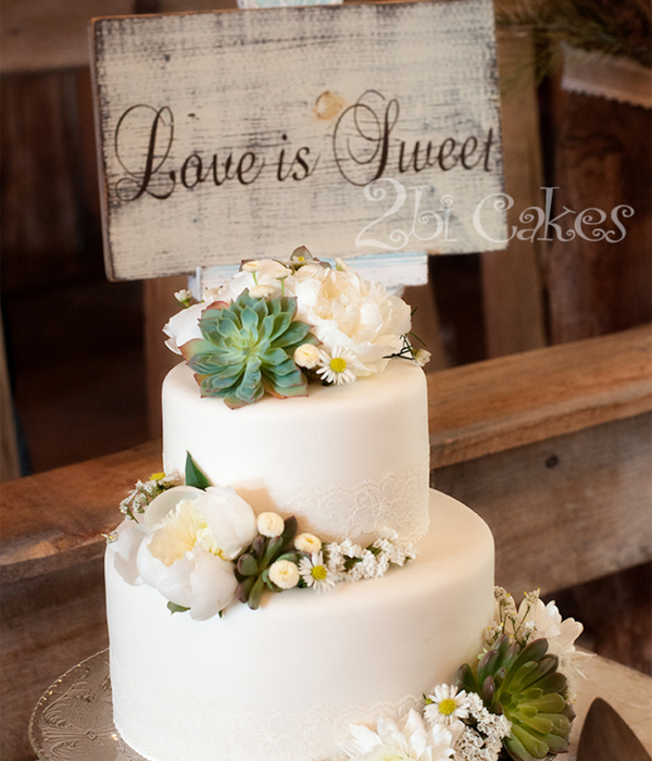Top Succulent Wedding Cakes   CakeCentral com Succulent Wedding Cake