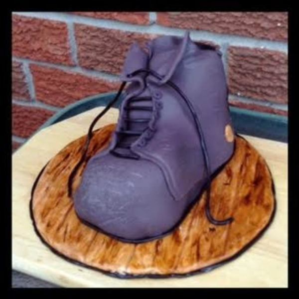 Tired Old Work Boots For Fathers Day - CakeCentral.com