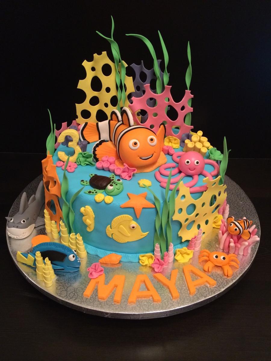 Nemo Cake Cakecentral Com