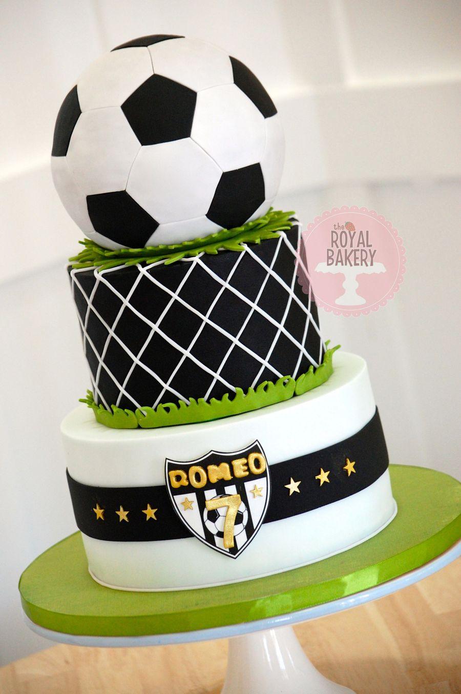 Soccer Football Cake Cakecentral Com