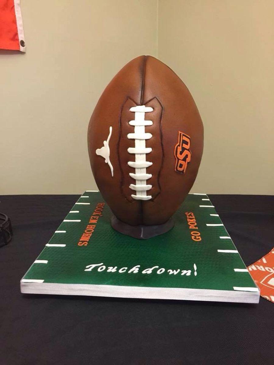 Divided House Football Cake Cakecentral Com